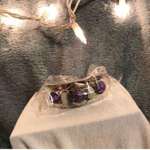 Tribe Purple Bracelet